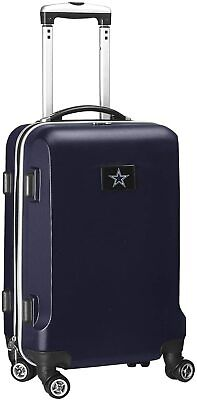 NFL Dallas Cowboys Carry-On Hardcase Luggage Spinner, Navy