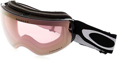 Oakley Flight Deck XM Snow Goggles, Matte Black, Prizm Hi Pink, Medium