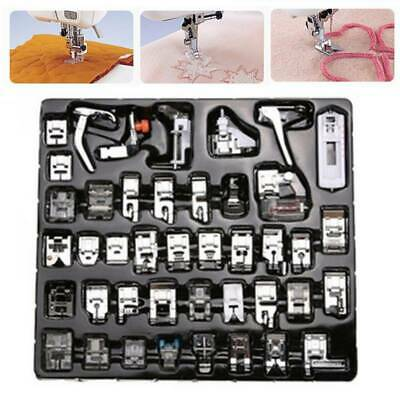 Domestic Sewing Machine Presser Foot Feet Set 42pcs for Brother Janome Singer
