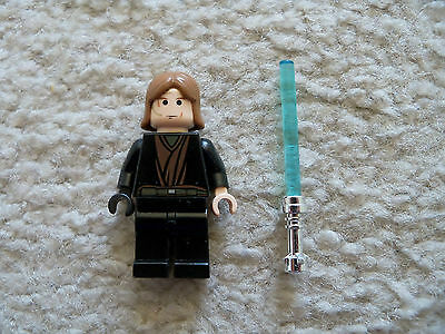 LEGO Star Wars Anakin Skywalker Minifigure 7113 Padawan Braid Genuine