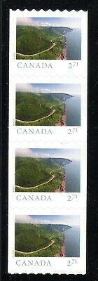 2020 Canada SC# From Far and Wide-one strip of 4 coil stamps-M-NH -19