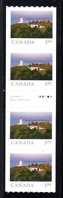 2020 Canada SC# From Far and Wide-gutter strip of 4 coil-M-NH -25