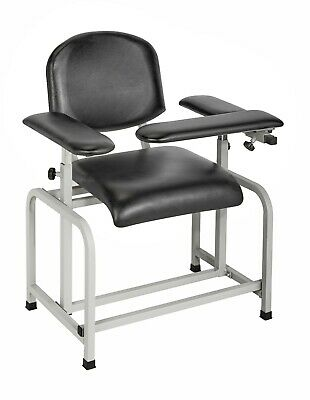 ***NEW*** Adirmed 997-01-blk - Padded Blood Drawing Chair,