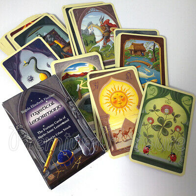 Lenormand Mystical Fortune telling cards Tarot deck Instruction Esoteric NEW