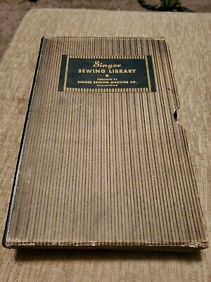 Singer Sewing Library from 1930s  Booked Set