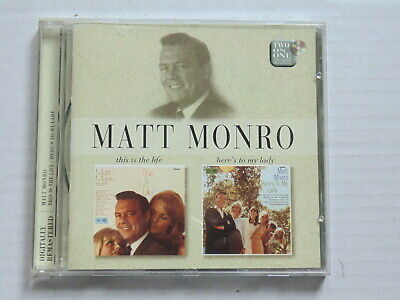 Cd Matt Monro - 2 Albums - This Is The Life & Here's To My Lovely