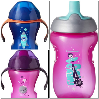 Tommee Tippee Training Sippee Cup Bottle Active , Baby / Toddler 7+/12+ Months