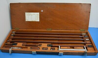 "Stick Micrometer 126"" 10 feet 6"" Moore and Wright"