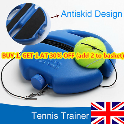 Professional Tennis Trainer Rebound Baseboard Tennis Self-study Practice Tool A+