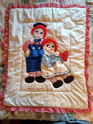 Baby Quilt Raggedy Ann and Andy