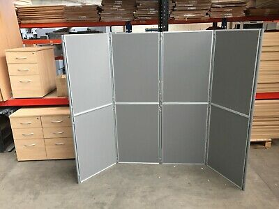 8 X Section Display Board Carry Case, Presentation, Exhibition akin to Noboboard
