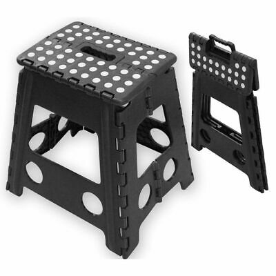 Multi Purpose Heavy Duty Plastic Folding Step Stools Seat Home Kitchen Storage