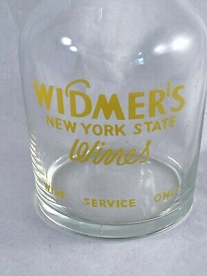 NYS Wines Widmer's Mini Wine Carafe Wine Service Only W/Glass Stopper