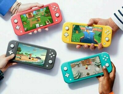 *BRAND NEW* Nintendo Switch Lite | Gray, Yellow, Turquoise, Coral  (New)