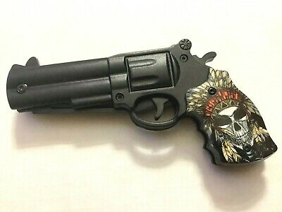 """Defender-Xtreme Skull Chief 8.5""""  Spring Assisted Folding Knife 3CR13 Steel"""
