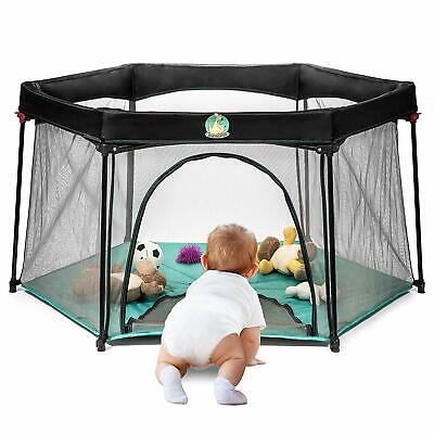 Portable pack n play for Infants and Babies - Lightweight Mesh Baby Playpen