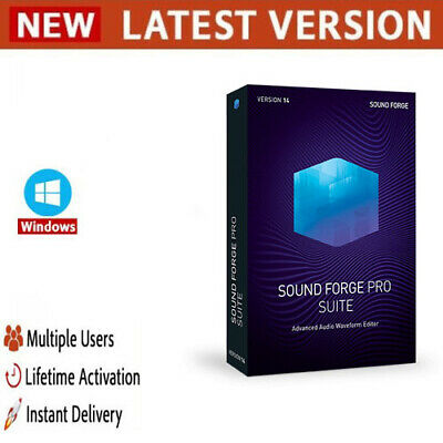 MAGIX SOUND FORGE Pro Suite 14 ✔️Full Version✔️Lifetime Licence Key✔️Windows✔️