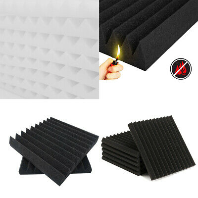 Acoustic Wall Panels Tiles Studio Sound Proofing Insulation Closed Cell Foam UK