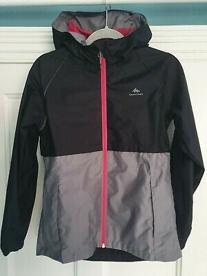 Girls Waterproof Jacket - age 12- excellent condition