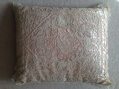 Victorian Lace Pillow Cushion Cover Very Fine And Special