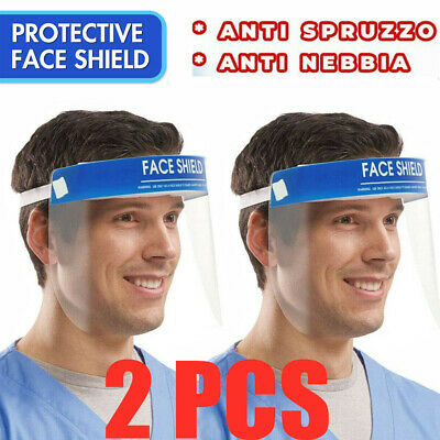 2PCS Anti-fog Empty Top Cap Full Face Splash proof Face Protective shield Hat2
