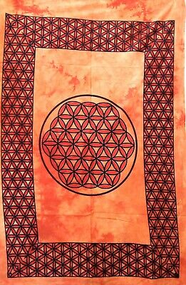 Ethnic Indian Small Poster Magic Gin Design Cotton Fabric Wall Hanging Tapestry