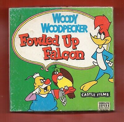 8Mm Woody Woodpecker In Fowled Up Falcon