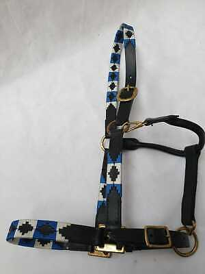 Knight Rider New Leather Polo Headcollars Sizes Pony-Cob & Full Black& Brown