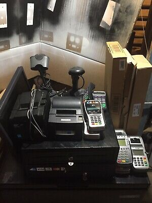 Quickbooks Star Hardware POS Bundle  2 Printers, 2 Scanners & 2 Cash Drawer