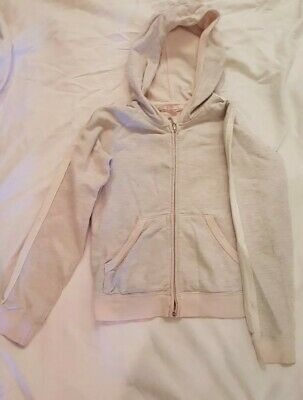 Juicy Couture Girls Small Zip Up with Jewelled Detail Hoodie Age 10
