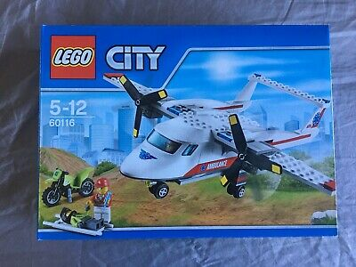 LEGO City Great Vehicles 60116 Ambulance Plane Mixed CONSTRUCTION FUN FOR KIDS