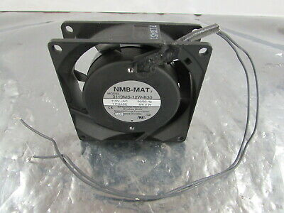 Nmb Mat 3110Ms-12W-B3 Fan 115Vac 60Hz 1 Phase 8-6.5W Impedance Protected **Nnb**