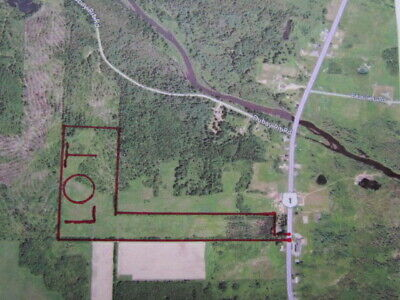 ***Own 46.5 Acres +/- Of Land In Northern Maine Next To The Canadian Border***
