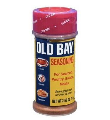 OLD BAY Seasoning Seafood Salads Poultry Meats 2.62oz FREE SHIPPING