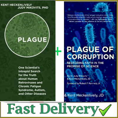 Plague of corruption By Kent Heckenlively ✅[P.D,F]✅+ Plague 🔥
