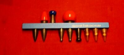 Dent Craft This Aluminum interchangeable PDR Tips with Holder / 11 tips