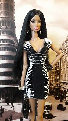 Fashion Royalty Outfit Barbie Herve Leger Collector Model Muse Only Dress