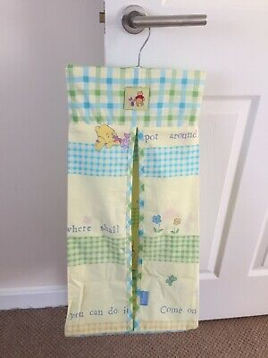 Disney Winnie The Pooh Nursery Baby Nappy Stacker Hanging Storage Decor