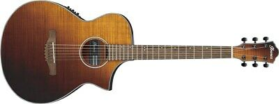 Ibanez AEWC32FM Thin Body Electro Acoustic, Amber Sunset Fade
