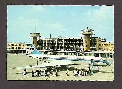 Malev - Hungarian Airlines - Tu 134 - Picture Postcard