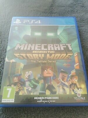 Minecraft Story Mode Season Two Ps4 New Sealed Uk Retail Version
