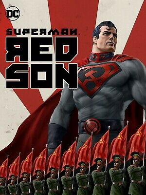 Superman: Red Son (Dvd,2020,Release) A New Super Adventure,Free Shipping...