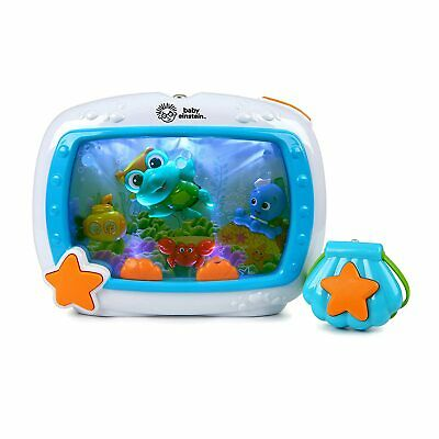 Baby Einstein Sea Dreams Soother Musical Crib Toy and Sound Machine OPENBOX