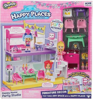 Shopkins Happy Places Happy Home Party Studio - Brand New In Box
