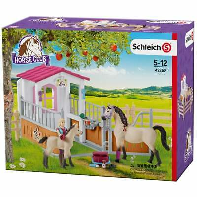 41447 41447 SCHLEICH Horse Club Arab Mare Horse Toy Figure with Blanket