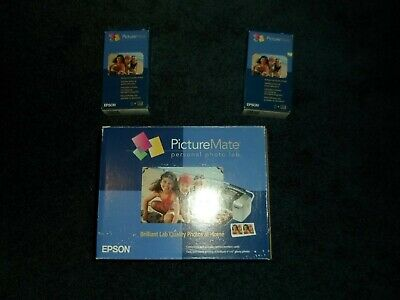 Epson Picture Mate Personal Photo Lab + 2 Print Packs