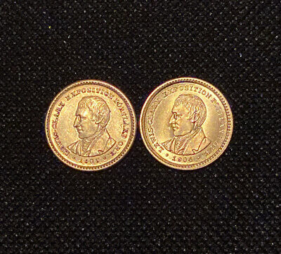 2 Gold 1 Dollar Lewis And Clark Coin