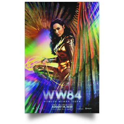 Wonder Woman 1984 ( WW84 ) Movie Poster Wall Art Print High Quality