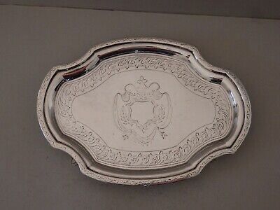 GEORGE III SOLID SILVER TEAPOT STAND - IM - LONDON 1797 - 187g