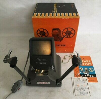 Vintage Minette M-2 8mm Film Viewer Editor Eight - Photography, boxed, tags